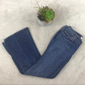 Gap Original Ultra Low Rise Ankle Court Boot Jeans